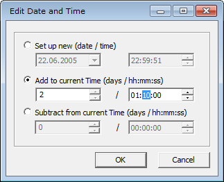 Add or subtract several days for exif date in Exif Pilot