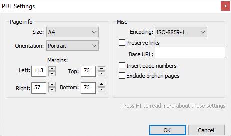 download pdf html button