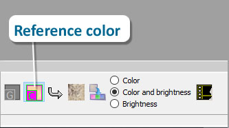 Reference Color button