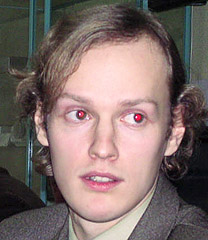red eye effect