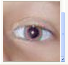 How to remove eye border in Red Eye Pilot