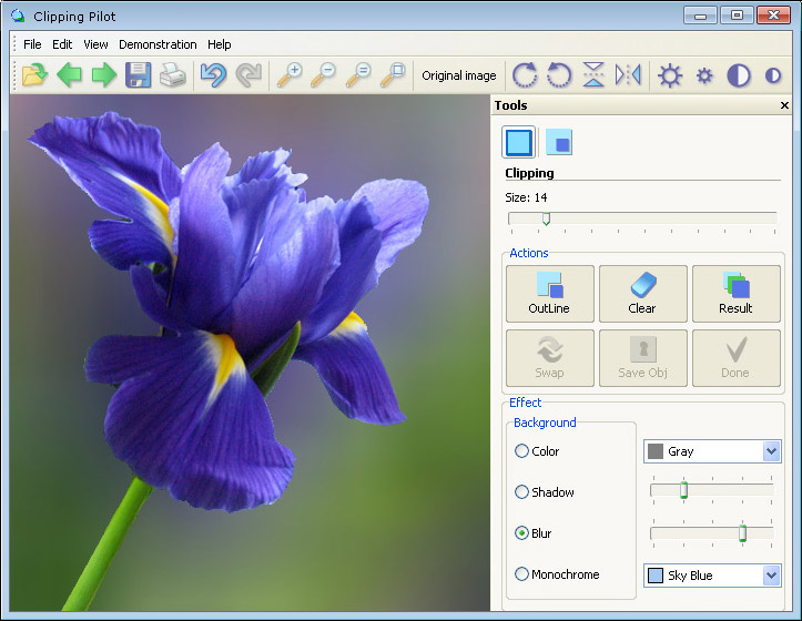 Click to view Clipping Pilot 1.1 screenshot