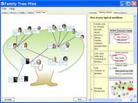 Click to view Family Tree Pilot 1.04 screenshot
