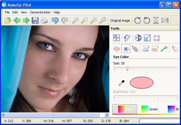 Click to view MakeUp Pilot 4.7.1 screenshot