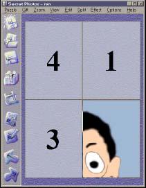 Secret Photos - Create a picture puzzle for your friend!